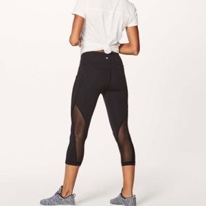 "Lululemon Sweat Your Heart Out Crop (21"")"